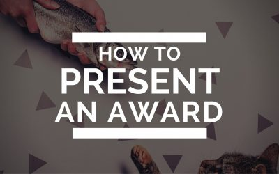 How to Present an Award [VIDEO]