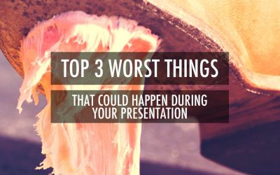 Top 3 Worst Things That Could Happen During Your Presentation [VIDEO]