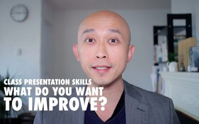 Class Presentation Skills – What Do You Want to Improve?