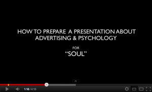 5 steps to prepare a presentation about advertising and psychology