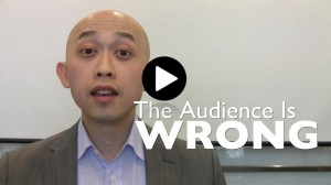 Start a presentation: How to get the audience's attention