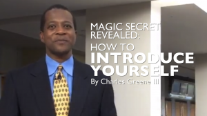 Example of how to introduce yourself for a presentation or business
